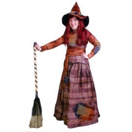 Disfraz de Bruja niña T-1