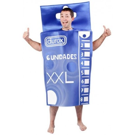 Disfraz Cajita Preservativos
