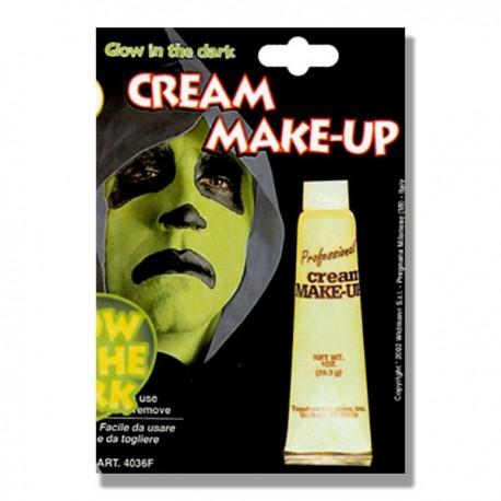 Crema maquillaje fosforescente
