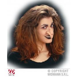 Nariz de Bruja con Verrugas Maquillaje Especial