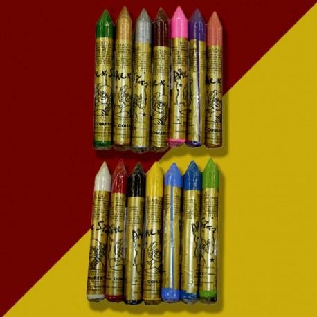 Barra Maquillaje Rojo Amarillo