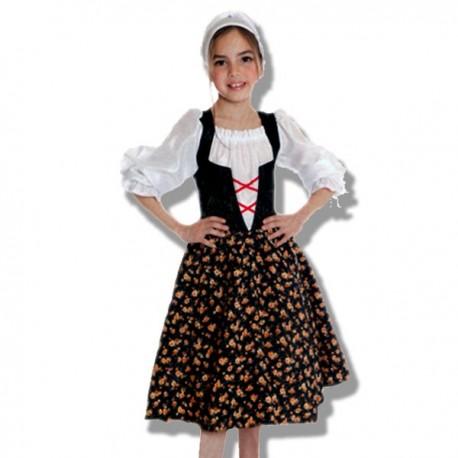 Disfraz de Pastora infantil - Disfraces Torrente