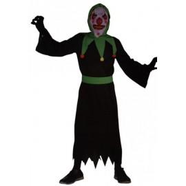 Disfraz Payaso Bufon Diabolico