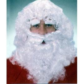 Conjunto Peluca Barba y Ceja Papa Noel