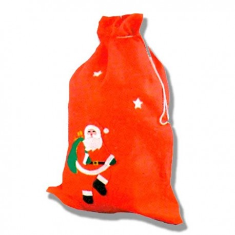 Saco Rojo Papa Noel