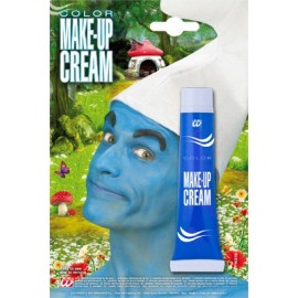 Tubo Crema Maquillaje Azul