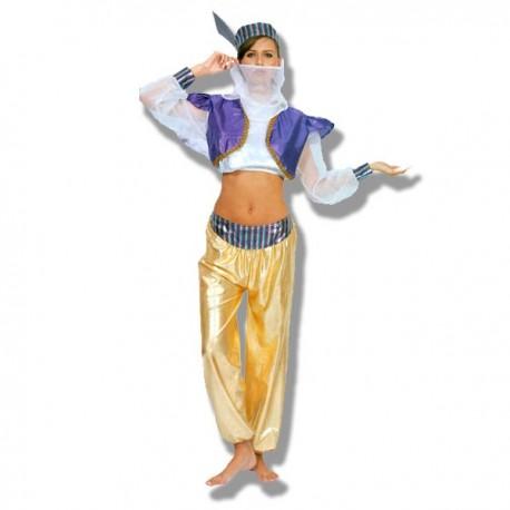 Disfraz Bailarina Mora Dorado