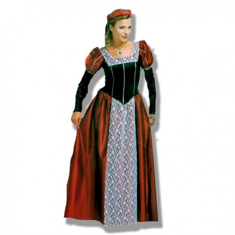 Disfraz Vestido Castellana XL