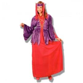 Disfraz princesa Gotica rojo