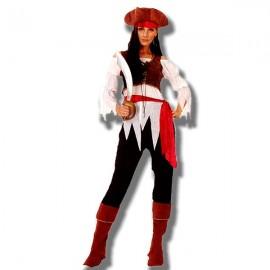 Disfraz Pirata Caribeña