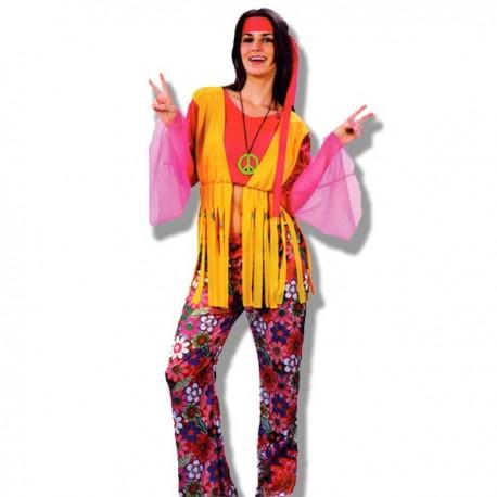 Disfraz chica hippie