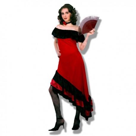 Disfraz Flamenca Rojo