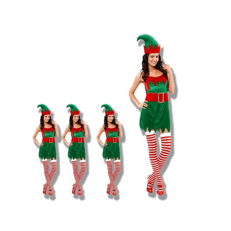 Disfraz elfo mujer seguramente el mejor precio online - Disfraz elfo nino ...