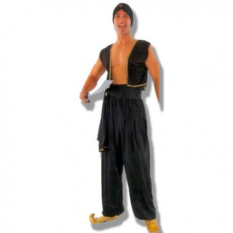 Disfraz Aladin negro