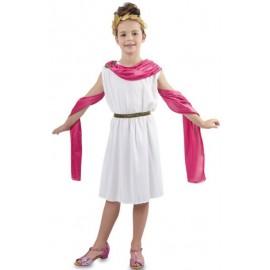 Disfraz de Romana Infantil.