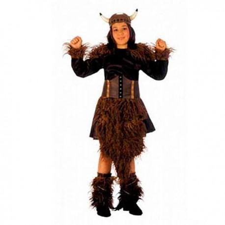 Disfraz Barbara Vikinga niñas