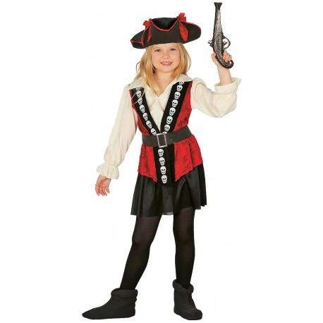 Disfraz pirata corsaria