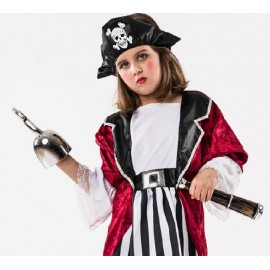 Disfraz pirata sombrero