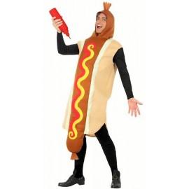 Disfraz de Salchicha Hot Dog Perrito Caliente