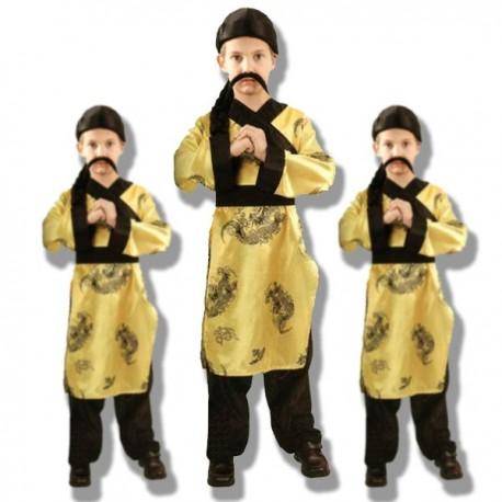 Disfraz Chino (Amarillo)