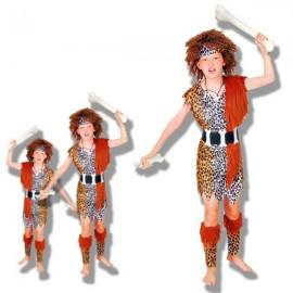 Disfraz cavernicola niños