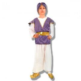 Disfraz Aladino morado infantil