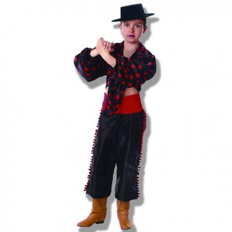 Disfraz bailaor gitano flamenco