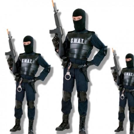 Disfraz agente especial S.W.A.T.T