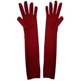 Guantes Rojos Largos 38cm