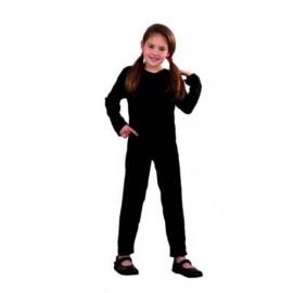Maillot Body Mono de Punto en Color Negro