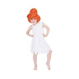 Disfraz de Wilma Picapiedra para niñas