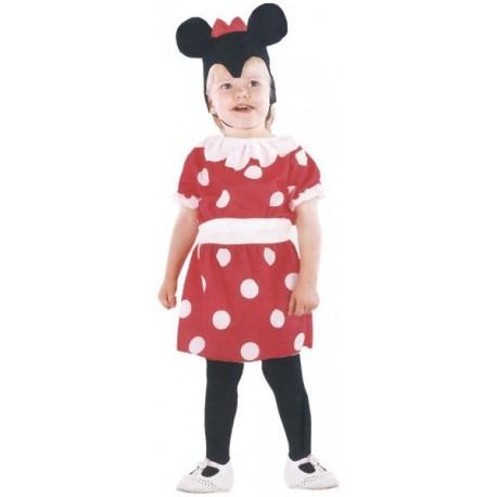 Disfraz Ratoncita Minnie (3-4 años)