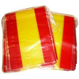 Bandera Plastico España (50 metros)