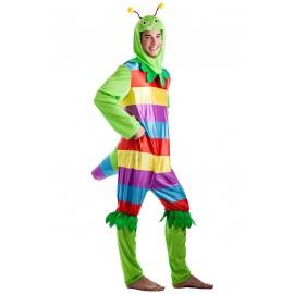 Disfraz Gusano Multicolor
