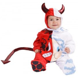 Disfraz de Angel y Demonio bebe