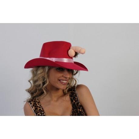 Sombrero tejano con pito