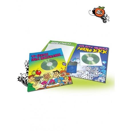 Postal cumpleaños con cd porno