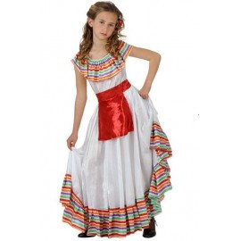 Disfraz Mejicana niña