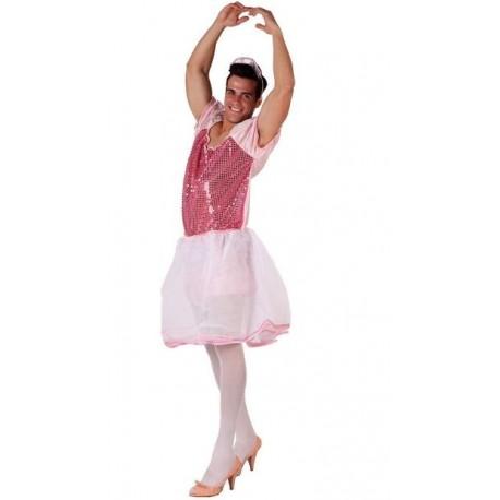 Disfraz bailarina ballet hombre