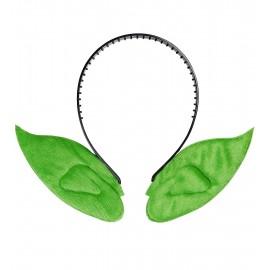 Orejas Elfo puntiagudas diadema - Verde