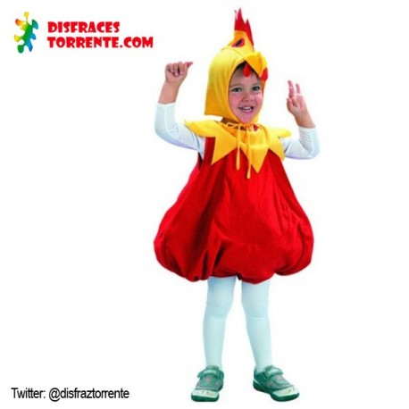 Disfraz pollito pollo infantil