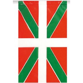 Bandera de Plastico Ikurriña