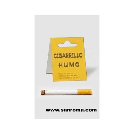 Cigarro de broma, (tira humo)