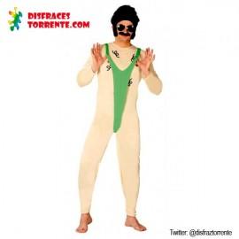 Disfraz Borat Tanga Mankini