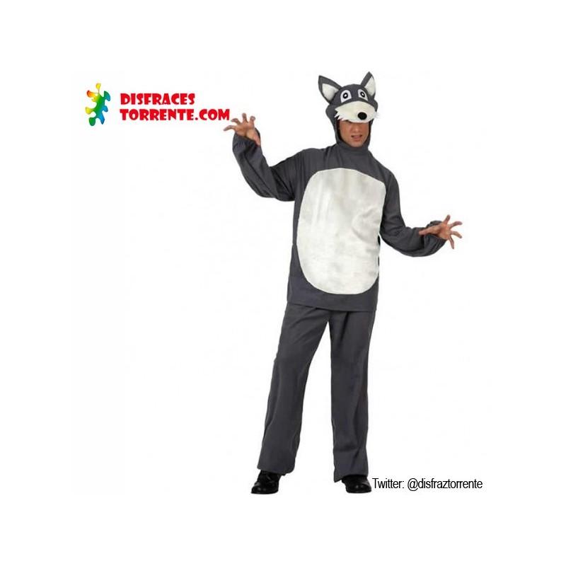 Disfraz de lobo feroz adulto env o garantizado 48h for Disfraz de lobo feroz