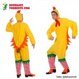 Disfraz de pollito pollo hombre