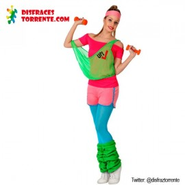 Disfraz chica deportista Gym