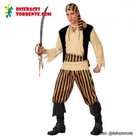 Disfraz de Pirata Calavera hombre