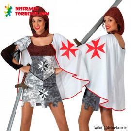 Disfraz Guerrera medieval mujer