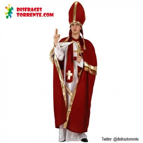 Disfraz Obispo Papa Cura